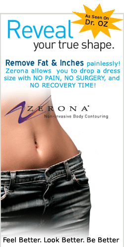 lose fat & inches without liposuction! Zerona laser fort wayne